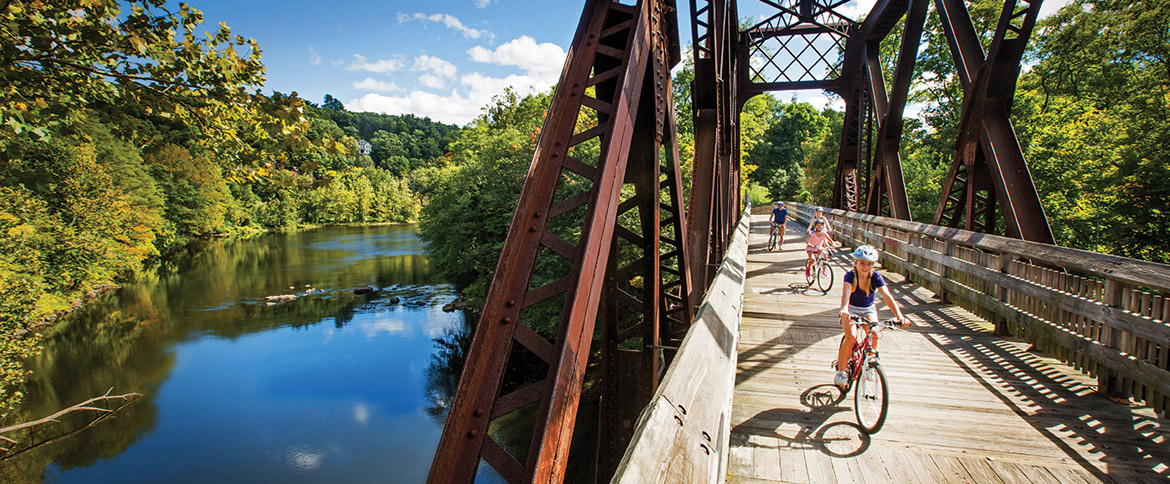 Bike Trails For Every Speed Visit Ct
